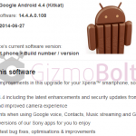 Xperia Z1, Z Ultra 14.4.A.0.108 firmware Android 4.4.4 Update rolling
