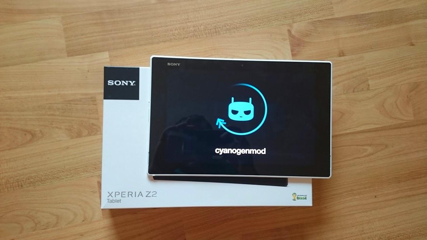 Xperia Z2 Tablet  CyanogenMod 11