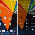 Install Xperia Zig Zag Theme with colored AOSP Navigation buttons