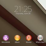 Download Xperia Android L Theme for Non Rooted Xperia devices