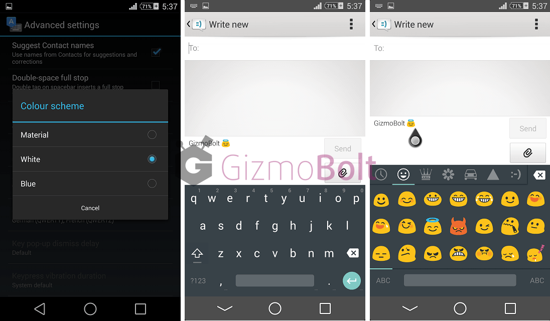 Download Android L Keyboard apk