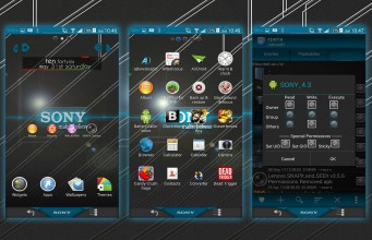 Xperia Sony theme
