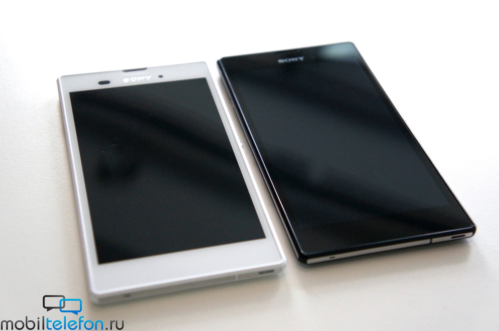 White Xperia T3 hands on review