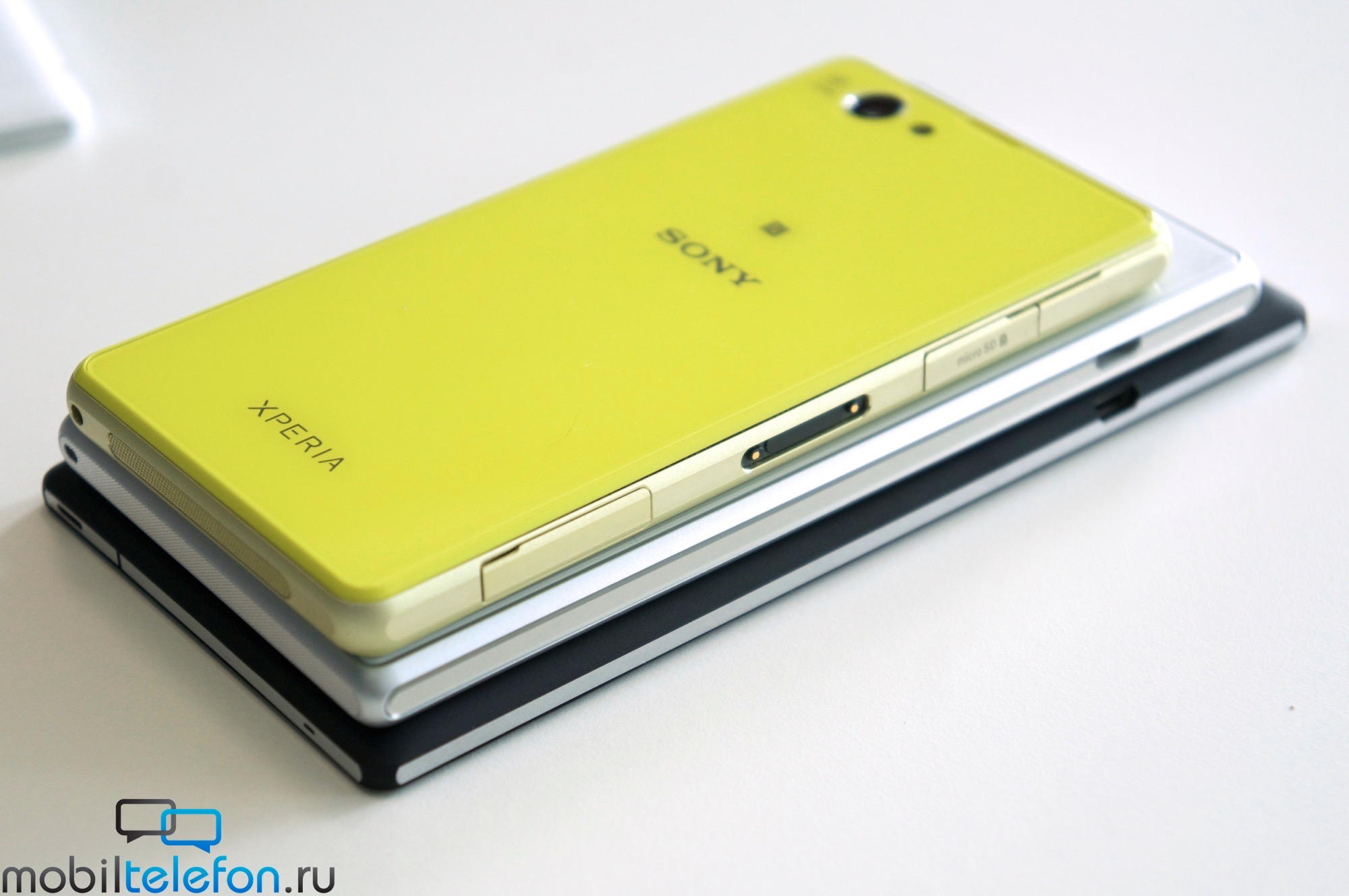 Xperia T3 vs Z2 vs Z1 Compact Thickness