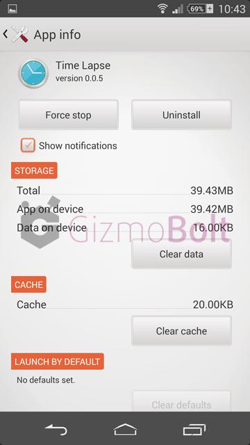 Time Lapse version 0.0.5 app