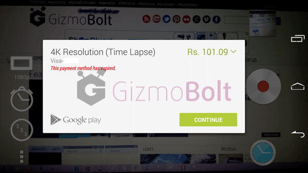 Buy Sony Time Lapse 4K vide resolution frame