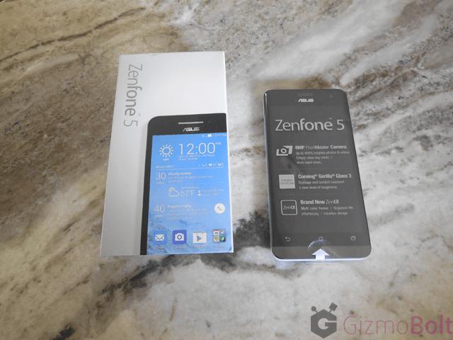 Asus Zenfone 5 box