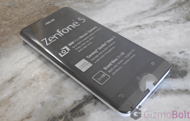 Asus Zenfone 5 out of the box