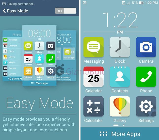 Asus Zenfone 5 Simple Home launcher