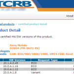 Xperia E1 20.1.A.0.45 firmware KitKat Android 4.4.2 certified