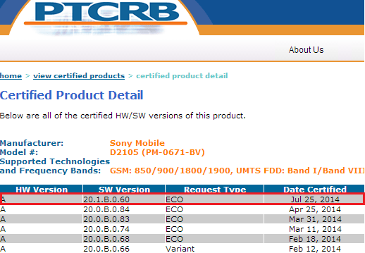20.1.B.0.60 firmware