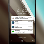 Download Android L Lockscreen app for any device