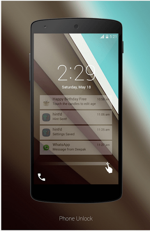 Android L Lockscreen apk