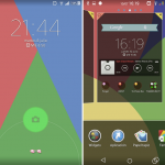 Install Colourful Xperia Theme for android 4.3, 4.4 devices