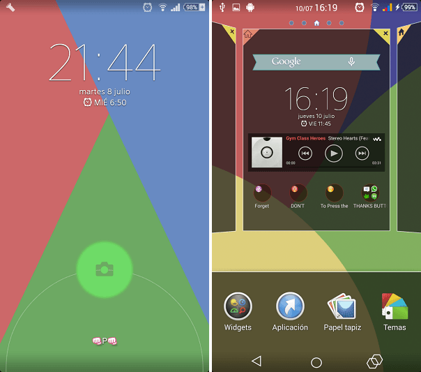 Colourful Xperia Theme