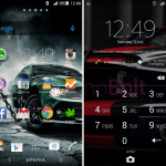 Install Xperia Criskelo Darkness Blue theme