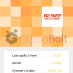 Gionee Elife E7 Mini gets Android 4.4.2 KitKat update – NO OTA
