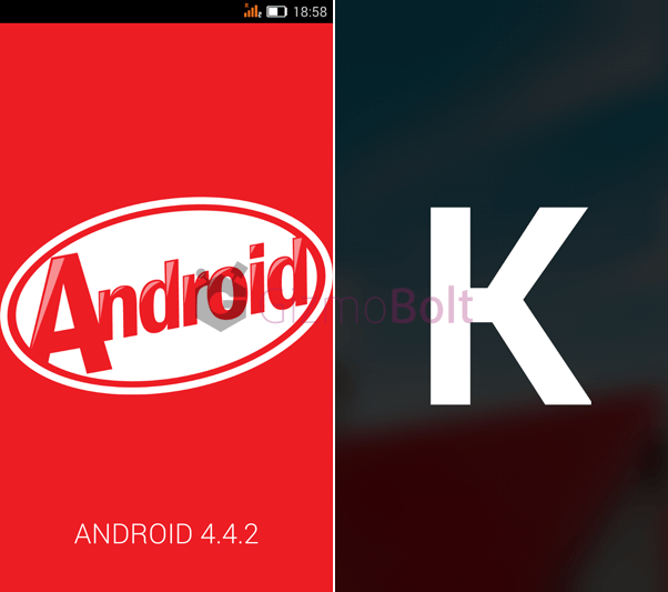 Gionee Elife E7 Mini KitKat update