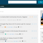 Gizmo Bolt Community Forums launched. Join Now.