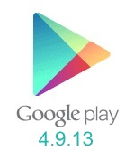 Google Play Store 4.9.13 version apk