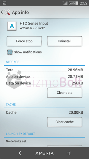 HTC Sense Input  version 6.2.795212 Keyboard apk