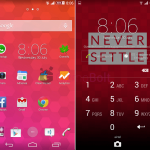 Install Xperia OnePlus One theme for android 4.3, 4.4 devices