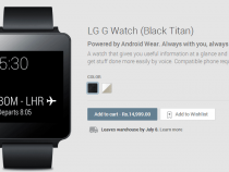 LG G Watch in India