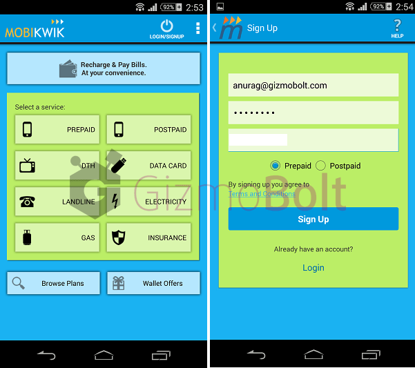 MobiKwik android app review