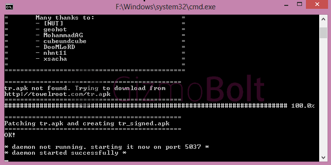 Root 14.4.A.0.108 firmware
