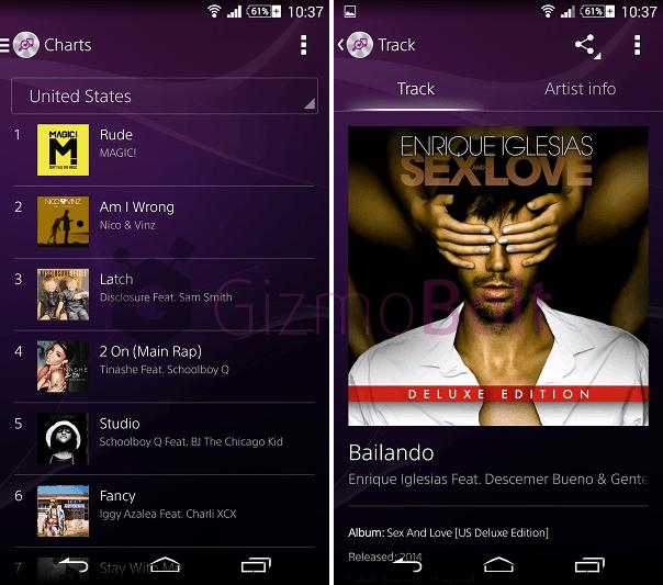 Sony TrackID 4.0.B.1.0 version