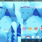 Install Xperia Android L Theme with Android L background wallpapers