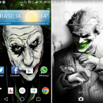 Xperia Arkham Madness theme for Batman fans