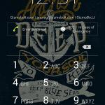 Install Xperia Blue Sea Anchor Theme