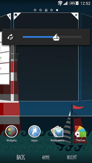 Xperia BlueSea theme version final