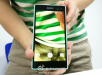 Xperia C3 Selfie phone in Turquoise color