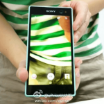 Xperia C3 Selfie phone leaked photos with front LED flash, 2500 mAh battery