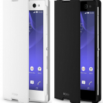 Xperia C3 Style Cover Stand SCR15 coming soon