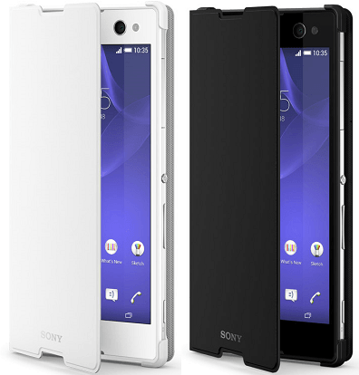 Xperia C3 Style Cover Stand SCR15