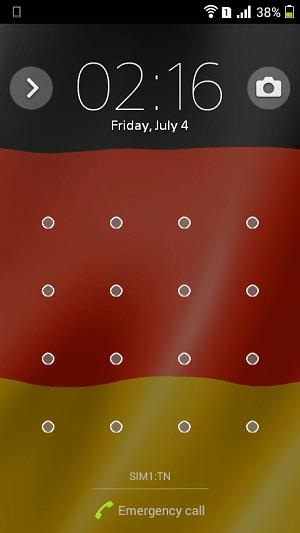 Xperia FIFA Germany football team theme