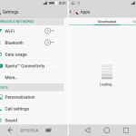 Install Xperia LmaniaC Theme based on Android L UI