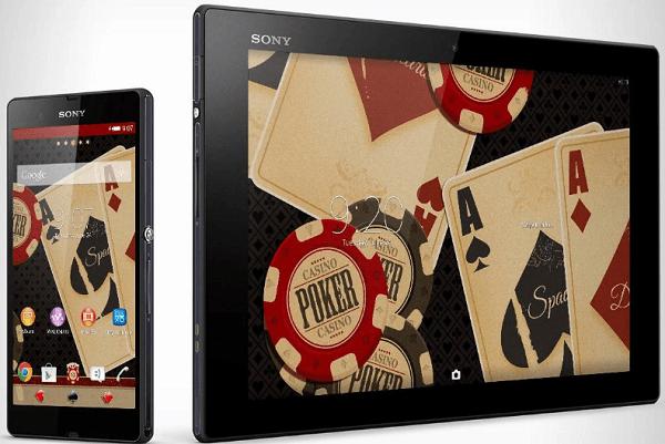 Xperia Theme Poker apk