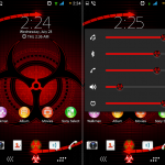 Install Xperia Toxic v1 theme on android 4.3+ device