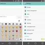 Install Xperia Android L theme with customized System UI
