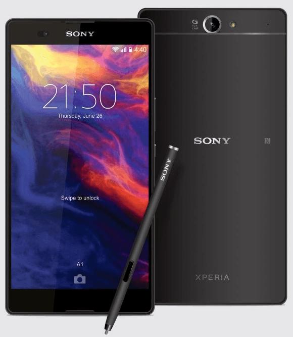 Xperia Z2 Ultra Concept phone design