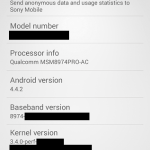 S801 2.5 GHz D580x Xperia Z3 compact specifications leaked
