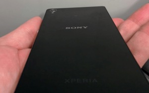 Xperia Z3 D6653 Back Panel pic leaked