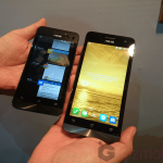 Asus Zenfone 4 vs Zenfone 5 hands on size comparison