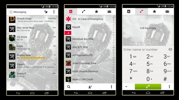 Download Xperia Dishonored theme