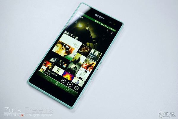 Xperia C3 Mint color