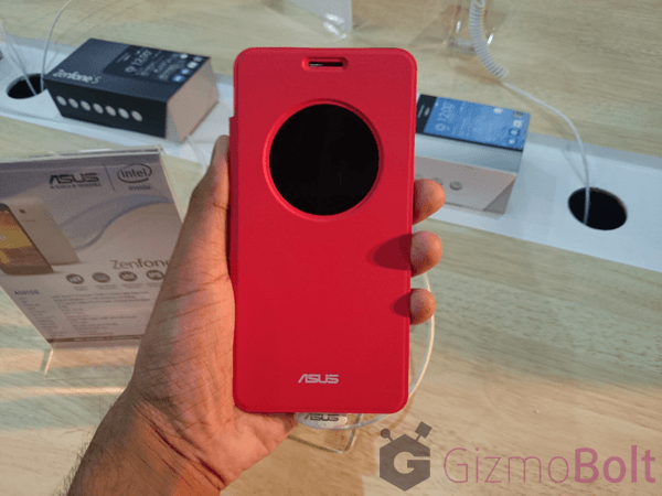 Asus Zenfone 5 flip cover hands on